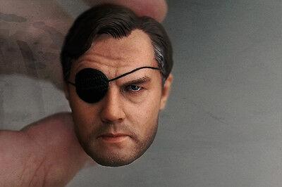 Custom 1/6 The Walking Dead David Morrissey Head Sculpt for Hottoys Kumik body