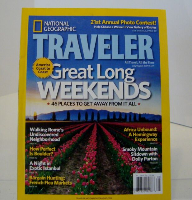 National Geographic Traveler July August 2009 Great Long WEEKENDS-b4