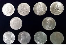 2 Schilling 1928 -1937 Komplette Serie Silber ----Eiamaya