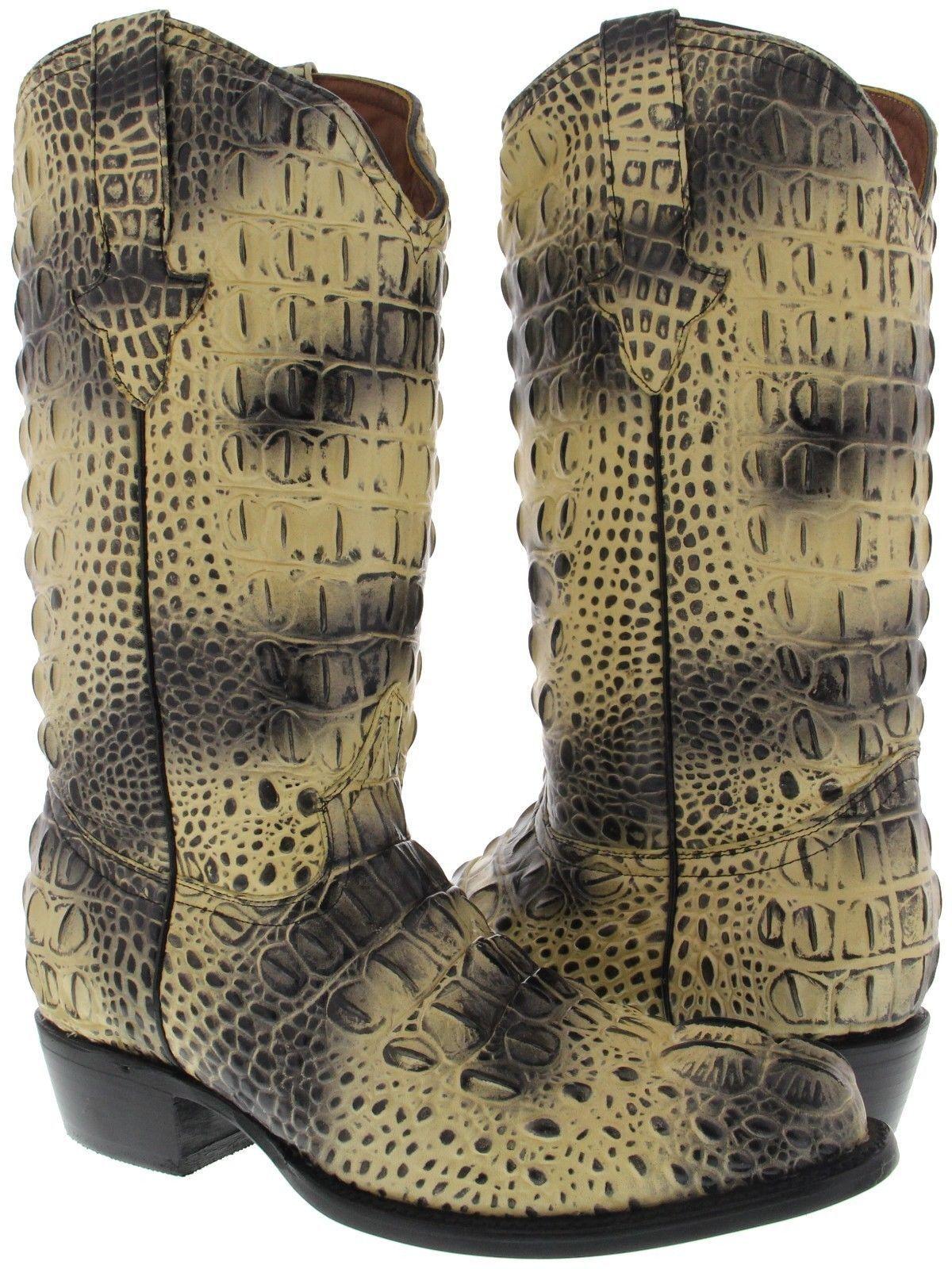 ba3393d70c490 Men's Multi color Full Crocodile Head Cut Print Leather Cowboy Boots Round  Toe. Merrell Men's BERNER Shift Lace Fashion Sneaker Events