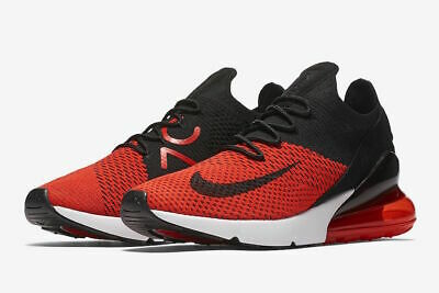 latest wholesale dealer no sale tax Nike Air Max 270 Flyknit Mens Running Shoes Chile Red AO1023 ...