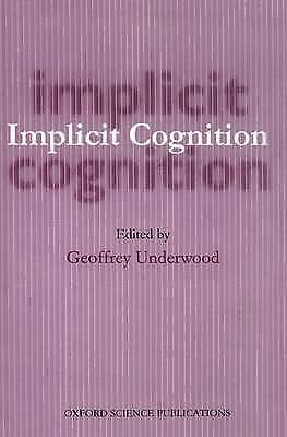 1 of 1 - Implicit Cognition (Oxford Science Publications), Unknown, Used; Good Book