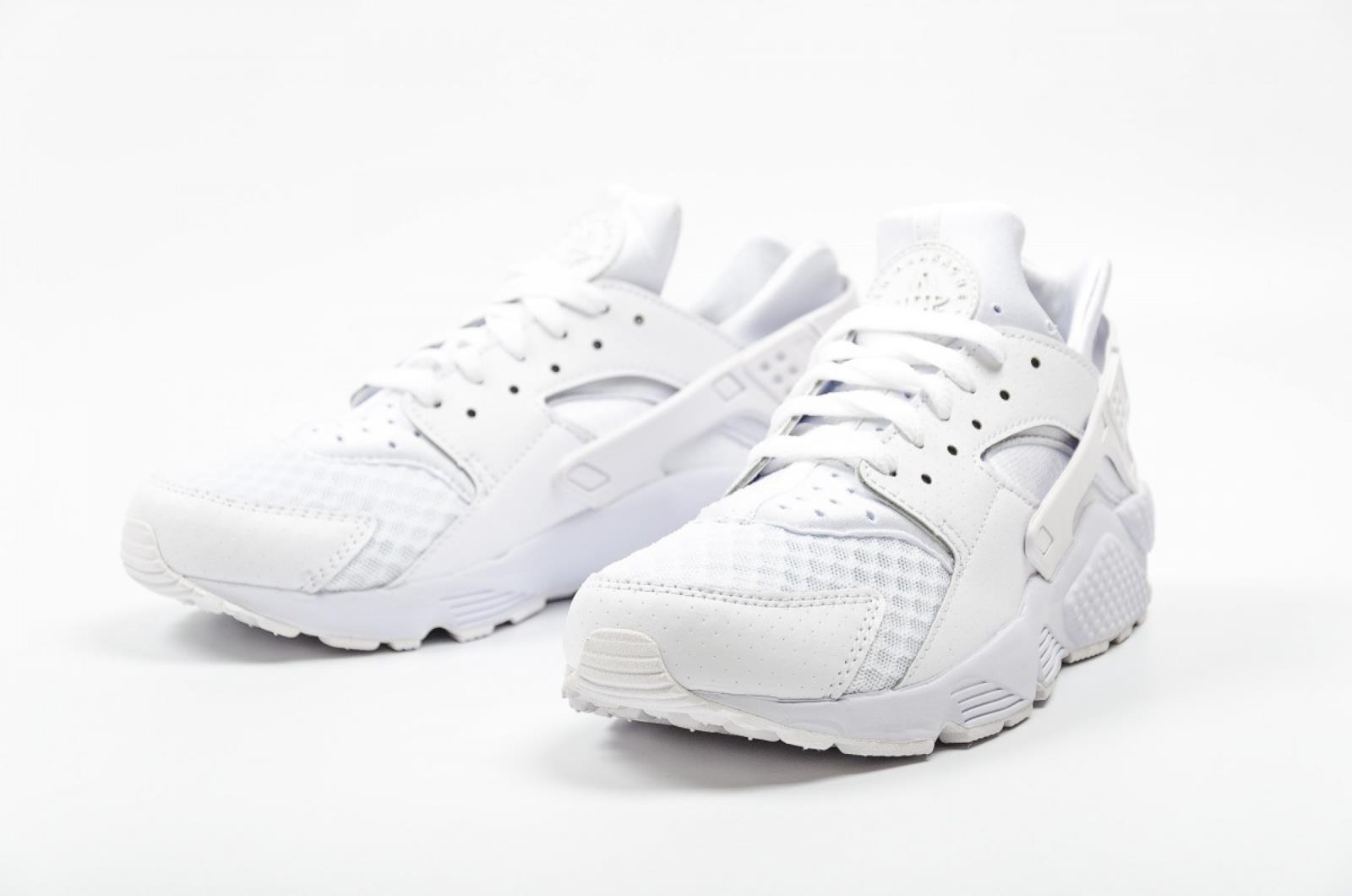 Scarpe sportive uomo-donna Nike Air Huarache Run 318429-111 bianco bianco bianco 857173