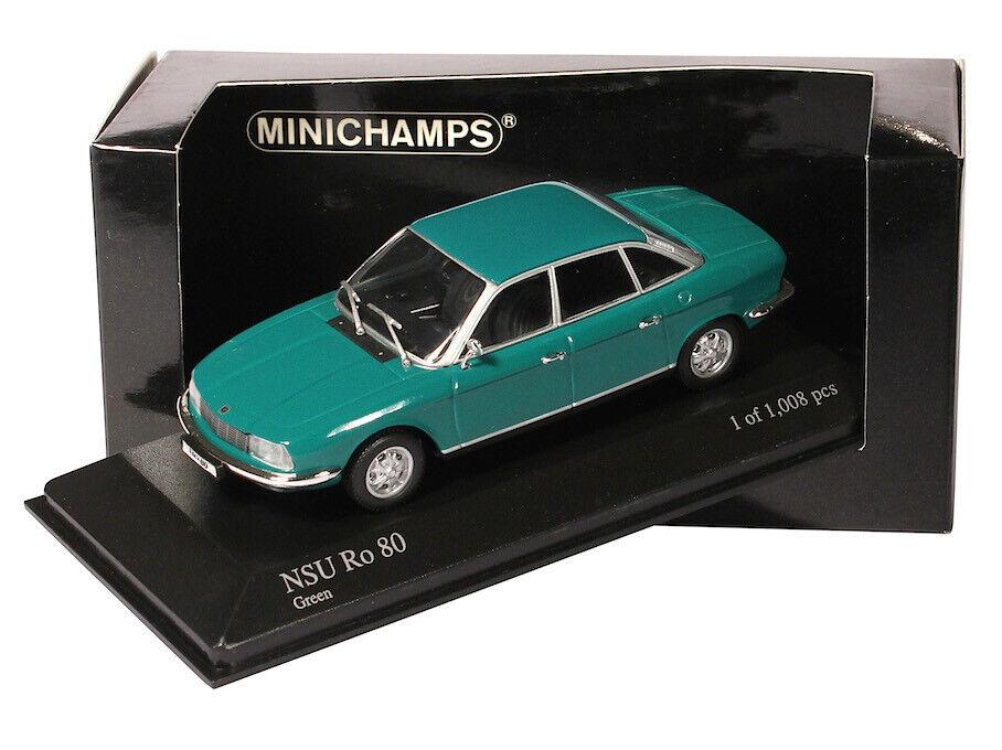 1 43 Minichamps - NSU RO 80 1972 - vert