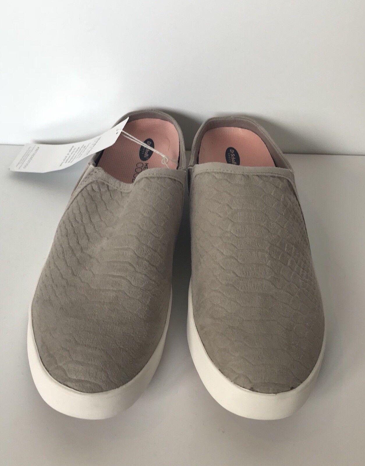 Dr. Slip Scholl's Womens Madi Mule Slip Dr. On Fashion Sneaker Grey Gray Snake Sz 9.5 M 1ccc20