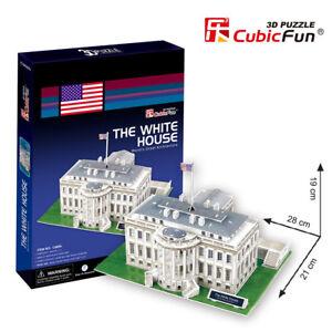 Puzzle-3D-de-LA-CASA-BLANCA-CubicFun-Rompecabezas-65-Piezas-j297