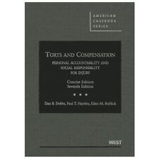 American Casebook: Torts and Compensation, Personal Accountability and Social R…