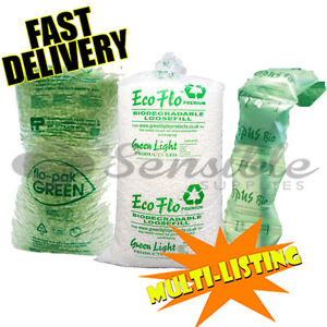 LOOSE / VOID FILL-  FLOPAK, ECOFLO & AIR PILLOWS - FULL BAGS - ALL TYPES/QTY'S