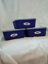 BAIT BOXES 1 PINT PACK OF 5 FISHING CARP COARSE GROUND BAIT MAGGOTS BAIT STORAGE