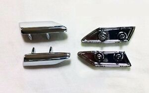 81-88 Oldsmobile Cutlass Hood Trim Top of Fender Extension Trim LEFT Driver Side