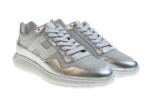 Dettagli su Hogan scarpe donna sneakers basse HXW3710AP31KWX0906 H371 INTERACTIVE3 P19