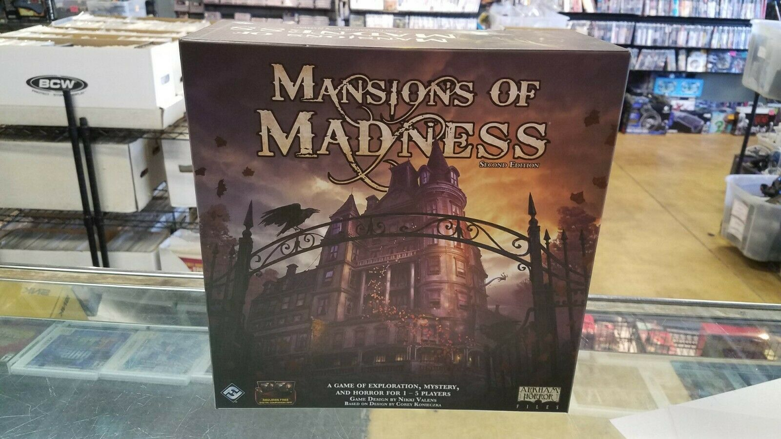 MANSIONS OF MADNESS 2ND ED Replacement Pieces DICE Card Decks CONVERSION KIT