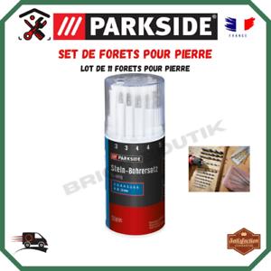 Set De Forets Pour Percage Pierre Parkside 11 Pieces Boite De Rangement Ebay