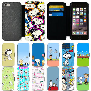 the latest 6812a 53186 Details about Cartoon Snoopy PU Leather Card Holder Wallet Phone Case Cover  For Apple iPhone