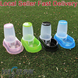 Automatic-Pet-Dog-Cat-Food-Feeder-1-8-liters-Bowl-Dispenser-Transparen-Plastic