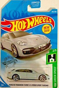 HOT WHEELS 2019 Porsche Panamera Turbo S 202//250 HW VERDE velocità 2//5 FYB51