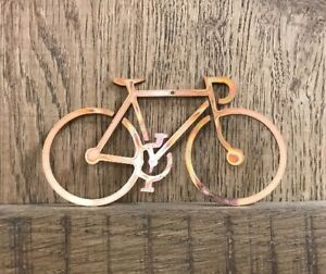 Image Is Loading Copper Bicycle Christmas Tree Decoration Ornament