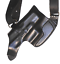 """Leather Shoulder Gun Holster LH RH For Dan Wesson 1911 4/"""""""