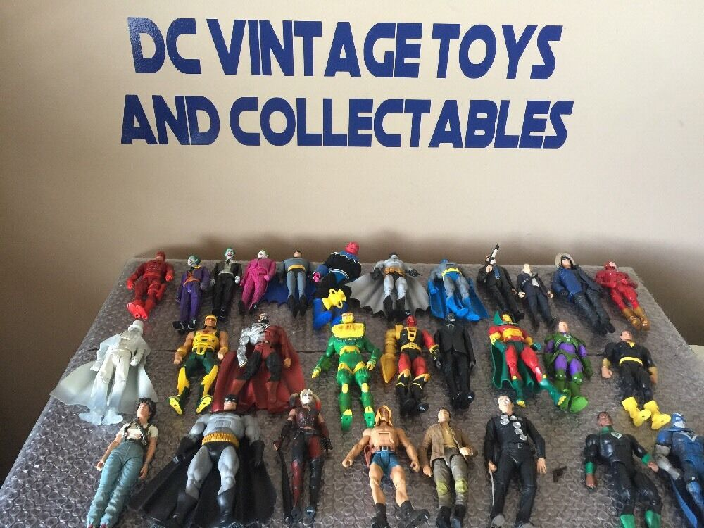 Dc Comics súper Heroes Neca Mattel Lote De 29 Figuras Sueltas Batman Joker bonito