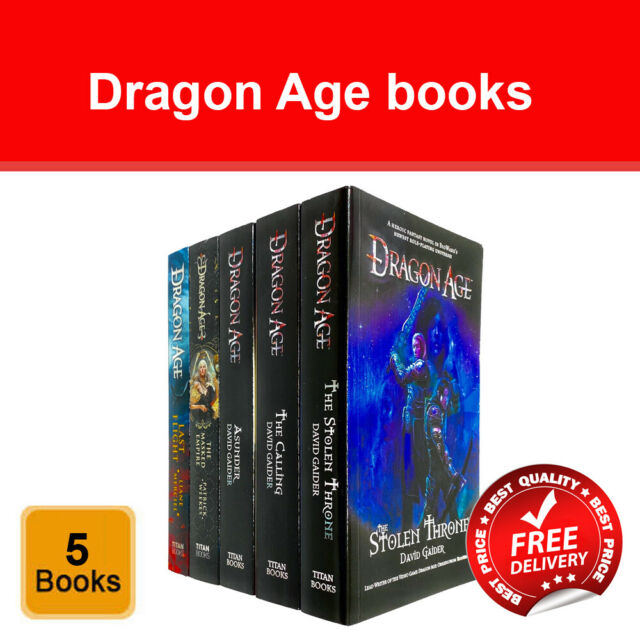 Dragon Age Series 5 Books Collection Set By David Gaider For Sale Online Ebay