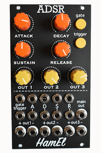 ADSR Envelope Generator Analog Synth Module - Eurorack // Hampshire Electronics