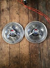 1963 Or 64 Ford Galaxie Fairlane Falcon Withspinner 14 Hubcaps