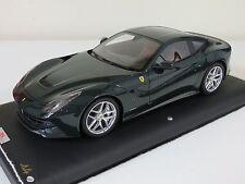 1/18 MR Collection Ferrari F12 Berlinetta British Racing Green Leather 99 pcs
