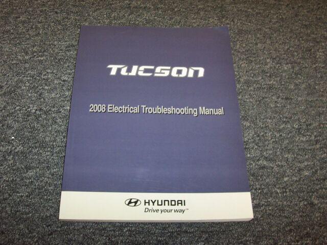 2008 Hyundai Tucson Electrical Wiring Diagram Manual Gls