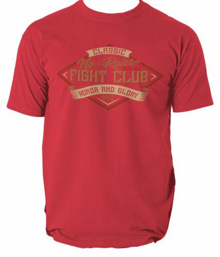 Club Fight T Shirt Tee Brad Pitt Movie Tyler Cult Film Durden Poster 90s Sketch