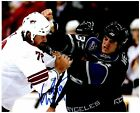 Los Angeles Kings KEVIN WESTGARTH Signed Autographed 8x10 Pic D