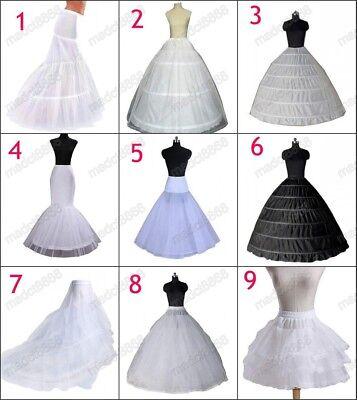 2020 Neu Petticoat Unterrock Kleid Unterkleid Reifrock Ringe Brautkleid Weiß DE | eBay