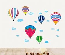Cartoon Hot Air Balloon Nursery Removable Wall Sticker Decal Decor Vinyl Art
