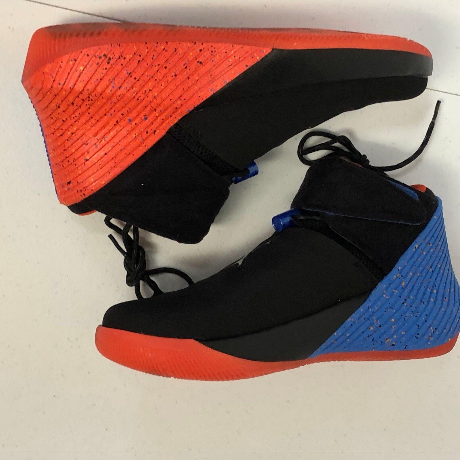 Air Jordan, por azul qué no zer0.1 aa2510-0señal azul por negro tamaño 8,5 no Box Top c576e4
