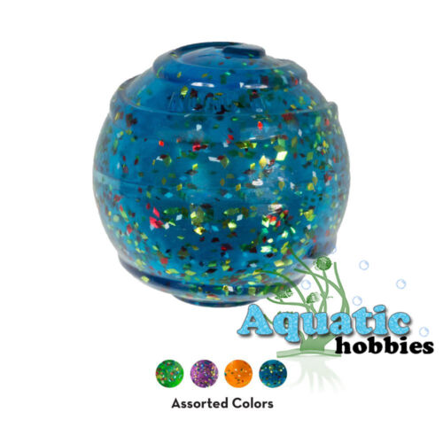Kong Confetti Squeezz Ball Squeaks Fetch Toy For Dog Puppy Choose Size