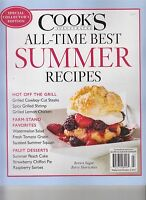 Cook's Illustrated All-time Best Summer Recipes Magazine 2017 Collector's Ed