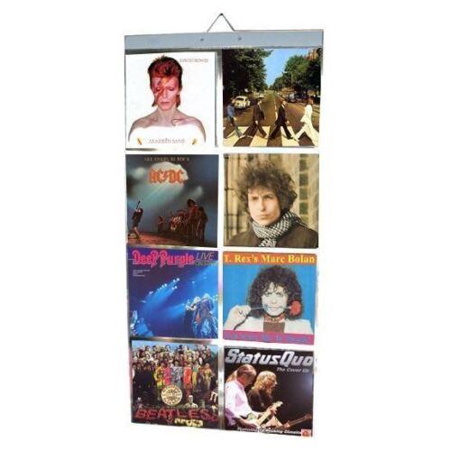 Bildertaschen für Vinyl 17.8cm Einzelbetten Schallplatten Retro Musik Display