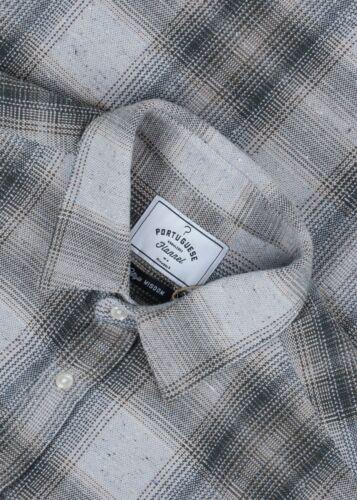 Portuguese Flannel Rude Check L/S Shirt Small pre-
