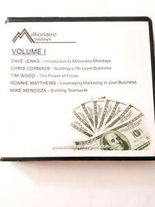 5-Cds-Millionaire-Mondays-Volume-One-Real-Estate-Teleclass-for-Members