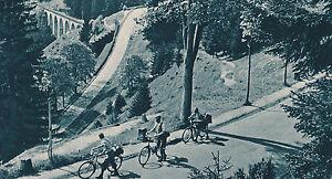 Höllental im Schwarzwald - Radfahrer - um 1935