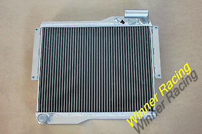 For MG MGB GT//ROADSTER 1977-1980 77 78 79 80 56mm All Aluminum Radiator