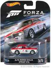 2016 Hot Wheels Retro Forza Motorsport 3/5 Alfa Romeo Giulia Sprint GTA