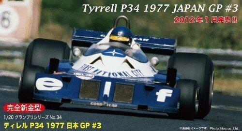 Fujimi modell 1   20 grand prix serie 34 tyrrell bericht 1977 japan   3 ronnie p - gp