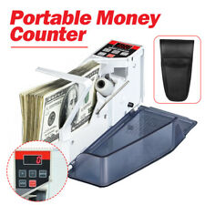 Portable Handy Bill Cash Money Count Machine Mini Banknote Currency Counter Us