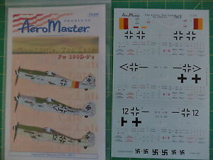 Aeromaster Decal 72-204 Too Little Too Late Pt.II