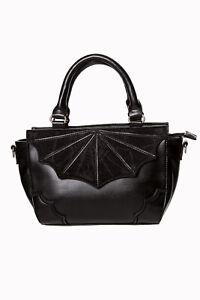 Women-039-s-Gothic-Punk-Rockabilly-Spider-Web-Black-Widow-Handbag-Bag-BANNED-Apparel