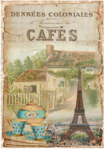 Decoupage-Serviettentechnik-Softpapier-Vintage-Nostalgie-French-Paris-12167