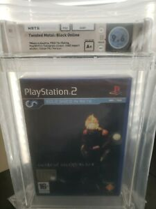 RARE Twisted Metal Black Online PS2 Playstation 2 WATA 9.6 Sealed A+