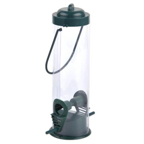 Hanging Wild Bird Feeder Hanger Squirrel Perch Garden Outdoor Feeding Seed