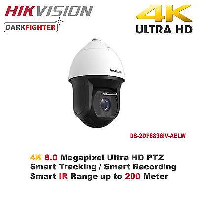 4K 8MP Hikvision 36X Outdoor Smart IR PTZ Camera/Smart Tracking/Samrt  Detection | eBay