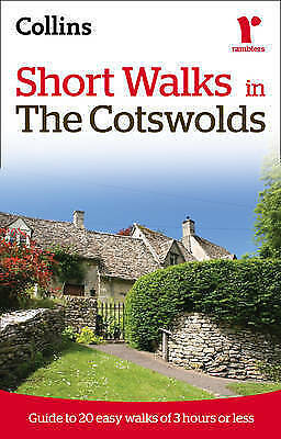 """""""AS NEW"""" , Short walks in the Cotswolds (Collins Rambler's Guides:), Book"""